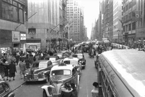 Street of New York when my grandfather started to sell elegant handmade furnitures